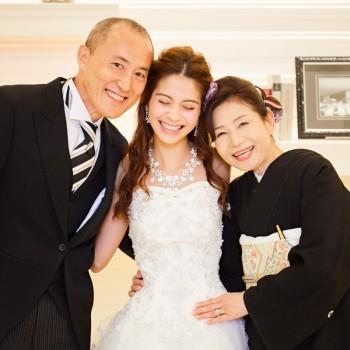 【ファミリープラン】家族で挙式と食事会をしたいお2人におすすめ☆10名以下家族中心の方限定