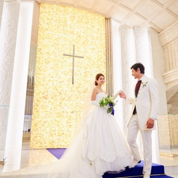 【挙式プラン】日本最大級の聖歌隊が奏でる結婚式☆口コミNO.1