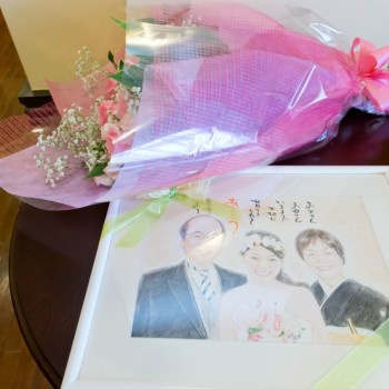 絆をイメージした結婚式♡