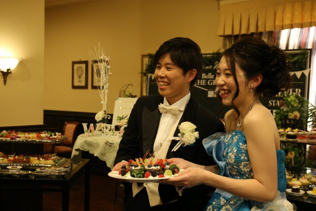 ゲストと一緒に創り上げる結婚式♪